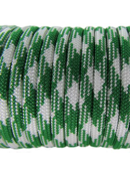 Паракорд 550 бело-зеленый камуфляж 196