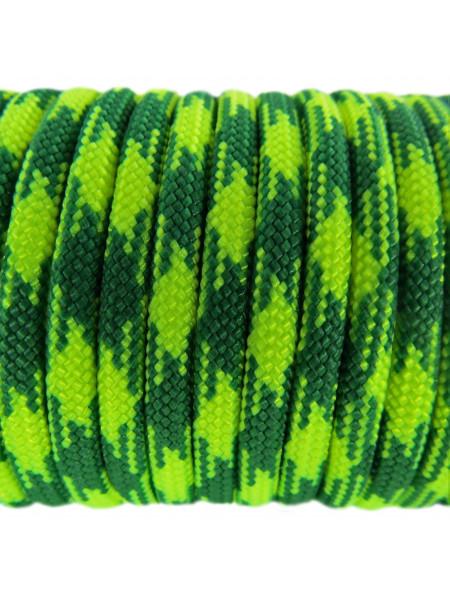 Паракорд 550 желто-зеленый камуфляж 216