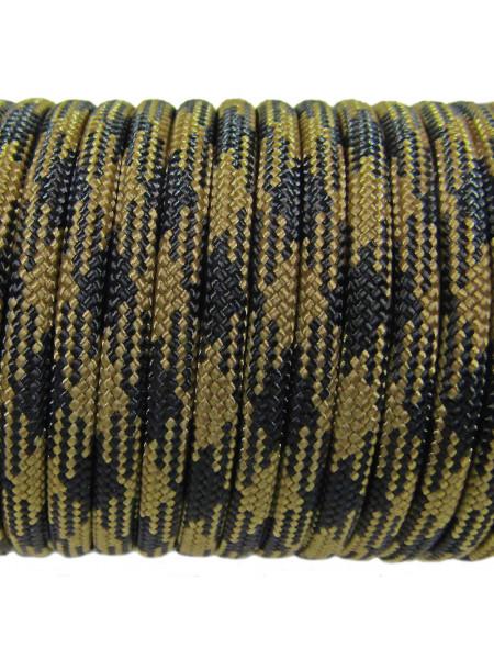 Паракорд 550 черный койот камуфляж 314
