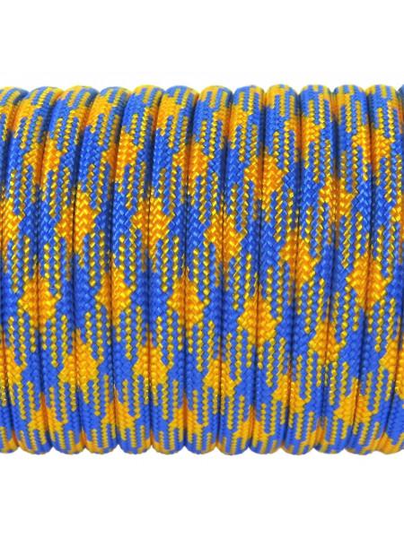 Паракорд 550 желто-голубой камуфляж 341
