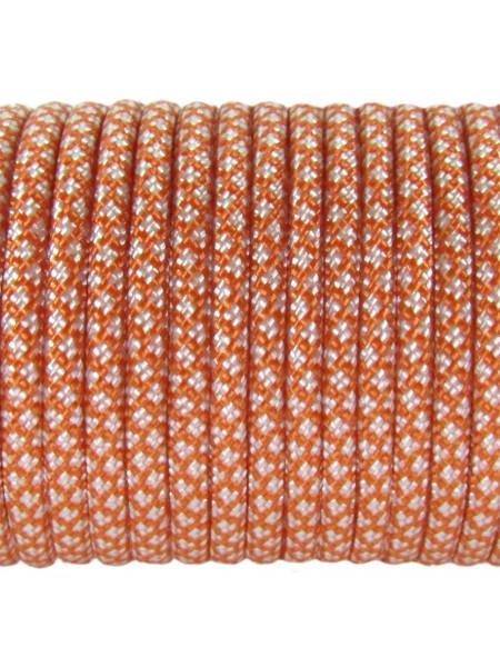 Паракорд 550 оранжево-белый 343