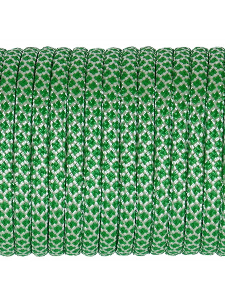 Паракорд 550 бело-зеленый 378